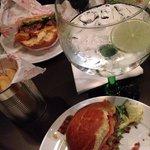 Digg burger og god gin.