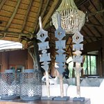 Decorations in main lodge