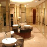 Toilets in lobby on ground floor