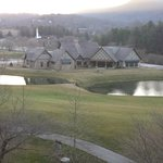 View from Condo overlooking the 18th Hole and Clubhouse