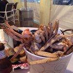 The bucket of Golden Crab