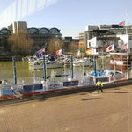 The Barge on the Brayford