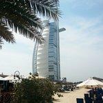 Beachcomber, plage et Burj Al Arab