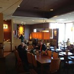 Panera Bread dining room