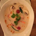 Tom Kha Gung – aromatische Kokos-Suppe mit Garnelen