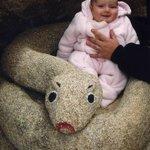 Having fun in the rock carvings