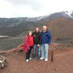 Alex of adriana viaggi and the family berger at the vulcano of etna. Dovete provare anche a sali