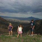 Amazing kids up on Montezuma's pass Coronado National Memorial