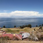 view from island Uros