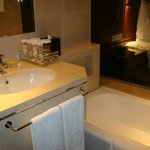 small bathroom counter