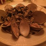Linguine & Clams, well done.