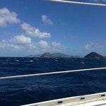 Sailing to Hawksnest