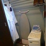 Inside the room ward robe
