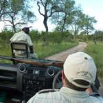 Zeb (tracker) & Craig (guide)