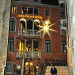 Noite fria em Veneza!
