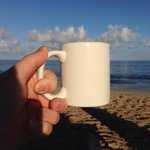 Made coffee...went to beach