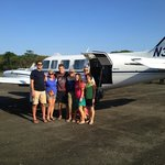 The banana republic travelers on our day trip to The Bay Island of Utila