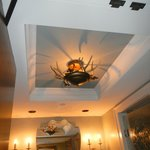 ceiling in room