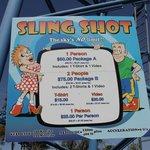 Sling Shot prices
