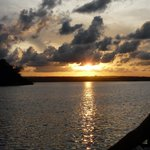 Sunset over Kilifi Creek very close by