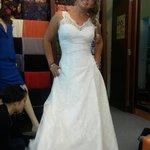 They made my dream wedding dress!!