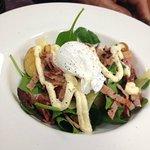 Yummy brunch salad!