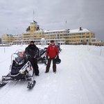 snowmobile adventure -- amazing!