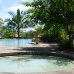 resort pool and pool bar