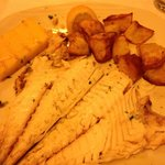 Sea bream with sautéed potatoes