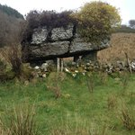 The dolmen on the Labby Walking route