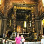 Altar mayor, el baldaquino