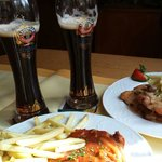 Great beer with real German food!