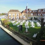 The Compleat Angler (from Marlow Bridge) on day of visit