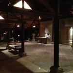 Aug trip: Lobby at night