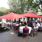 Bar extérieur et lunch légers