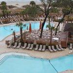 The Omni heated pool