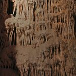 formations in the cave