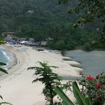 Yelapa Beach from waterfall trail