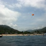 Yelapa Beach from our sailboat