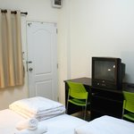 A television is included in the rooms