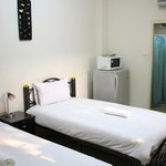 Twin ensuite rooms