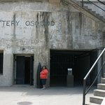 Entrance to Battery Osgood