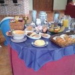 desayuno en Mendi Alai