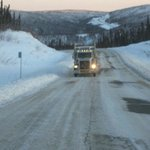 Fearless Trucker on The Dalton Highway