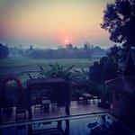 Sunrise magnifique depuis le balcon!