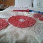 Essa era a cama com algumas comprinhas #bigsize #confortavel