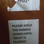 Ladies stalls need work