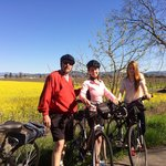 Beautiful day and scenery with Ace It Bike Tours