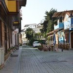Outside street