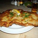 Schnitzel at Oma Kleinmann